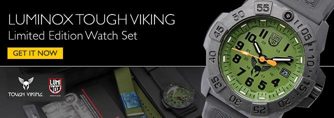 Luminox Tough Viking Set Limited Edition Watch 3501-BO-TV-SET