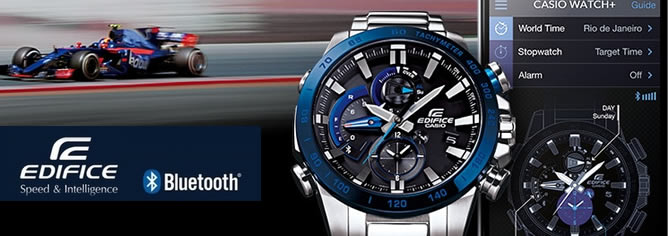 Casio Edifice Solar Mobile link RACE LAP CHRONOGRAPH Watch EQB-800 Series